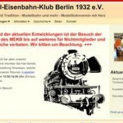Modell-Eisenbahn-Klub Berlin e. V. 1932