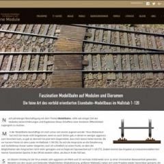 """Feine Module"" – Eisenbahnmodellbau im Maßstab 1:120"