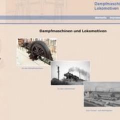 Dampfmaschinen und Dampfloks