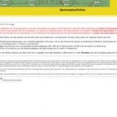 Gleisplan online – sporenplan.nl
