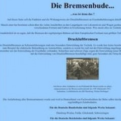 Bremsenbude – was ist denn das? (v. Olav Kettner)