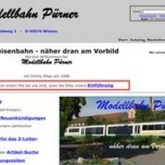 Modellbahn Pürner in Wiesau