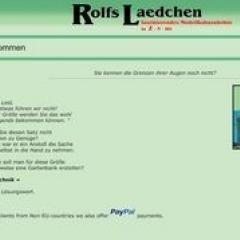 Rolfs Lädchen (Rudolf Papst in Heiden)