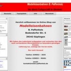 Modelleisenbahnen  B. Paffenholz (Haldensleben)