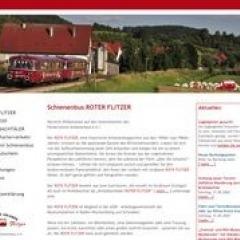 Schienenbus Roter Flitzer