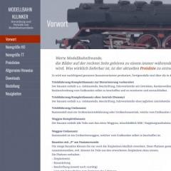 Klunker - Modellbahn Klunker