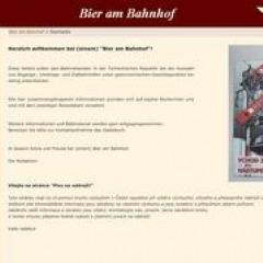 """Bier am Bahnhof – """"Kulinarischer"""" Reiseführer für Tschechien"""